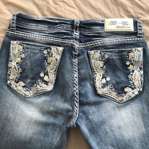 Grace in LA easy fit jeans 29 excellent pre owned